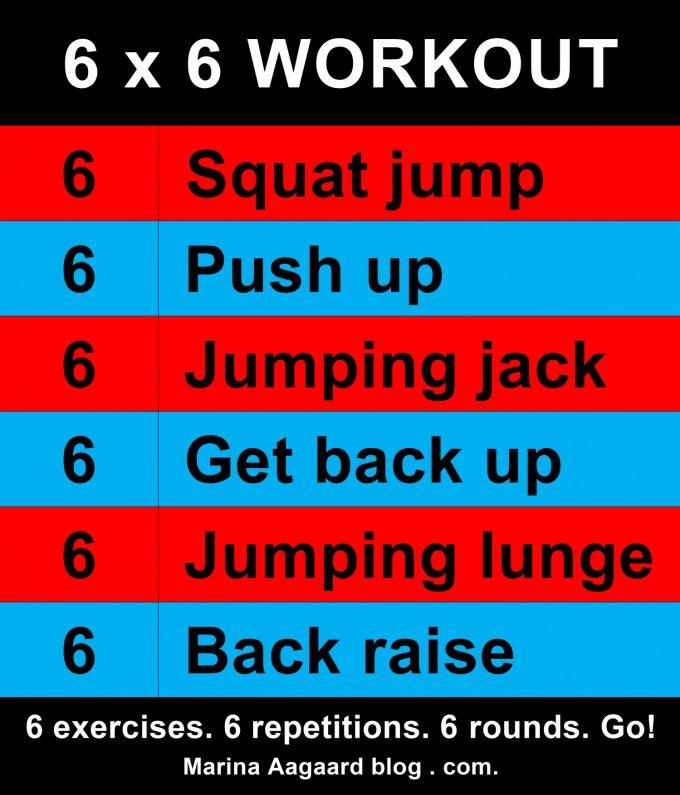 6 Workout Circuit US Marina Aagaard blog fitness