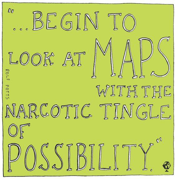 Landkort Map Rolf Potts