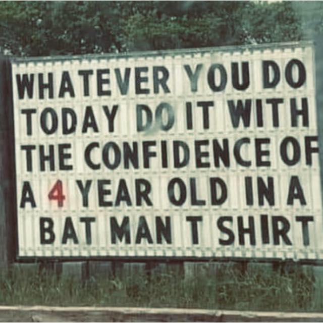 Selvtillid Batman boost