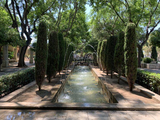 Palma de Mallorca fountain springvand Marina Aagaard blog travel rejse foto