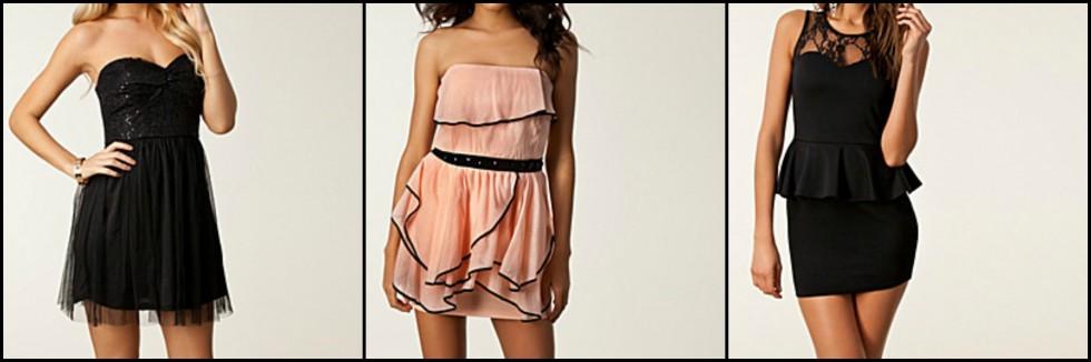mindre fine kjoler