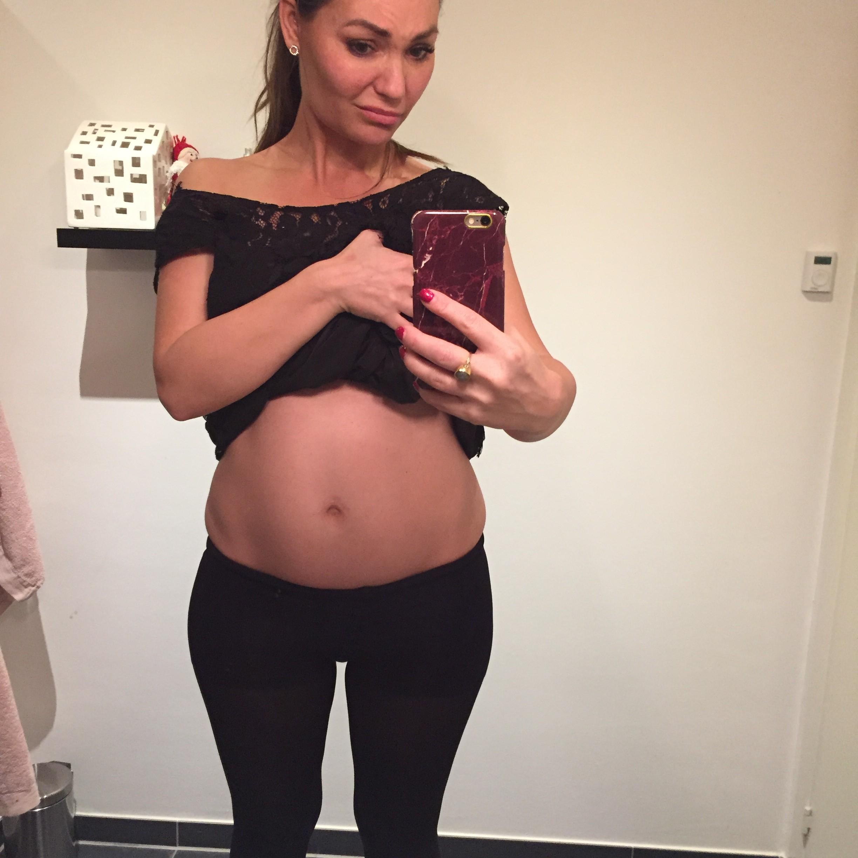 mascha vang gravid