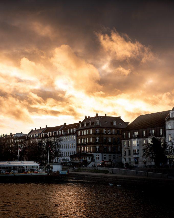 solnedgang i københavn