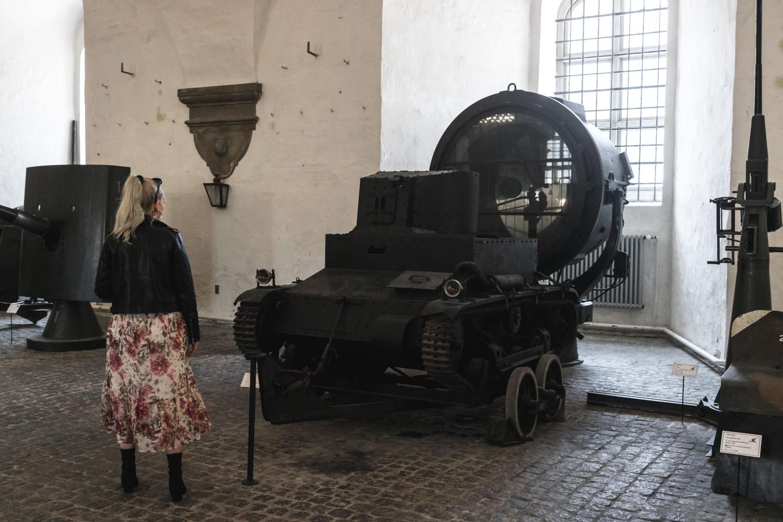 tank på krigsmuseet