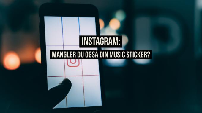 Mangler du også din music sticker