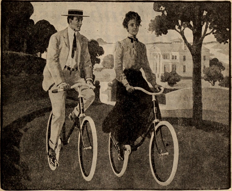 Forældrepar. Cirka 1904