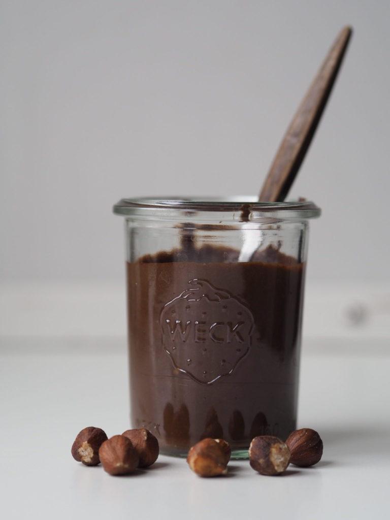 Bønne-nøddecreme a la Nutella