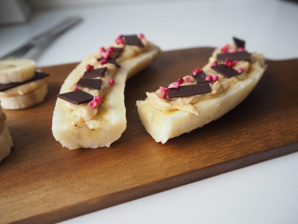 Banan split snack