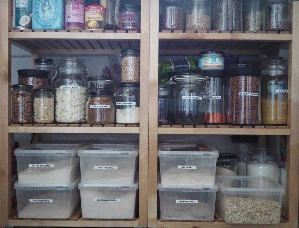 Basisvarer i køkkenet