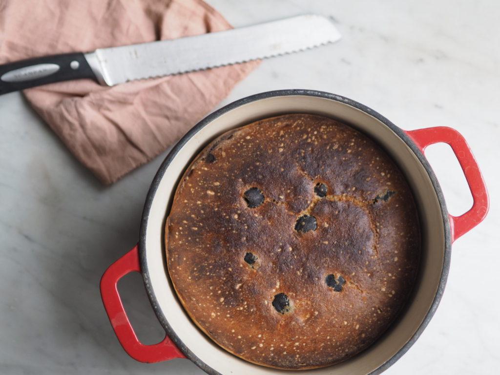 Grydebrød med oliven
