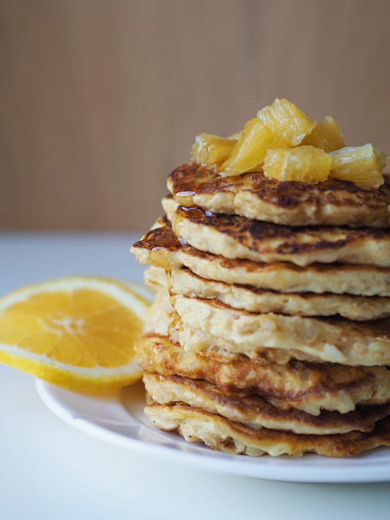 Klatkager med appelsin og vanilje