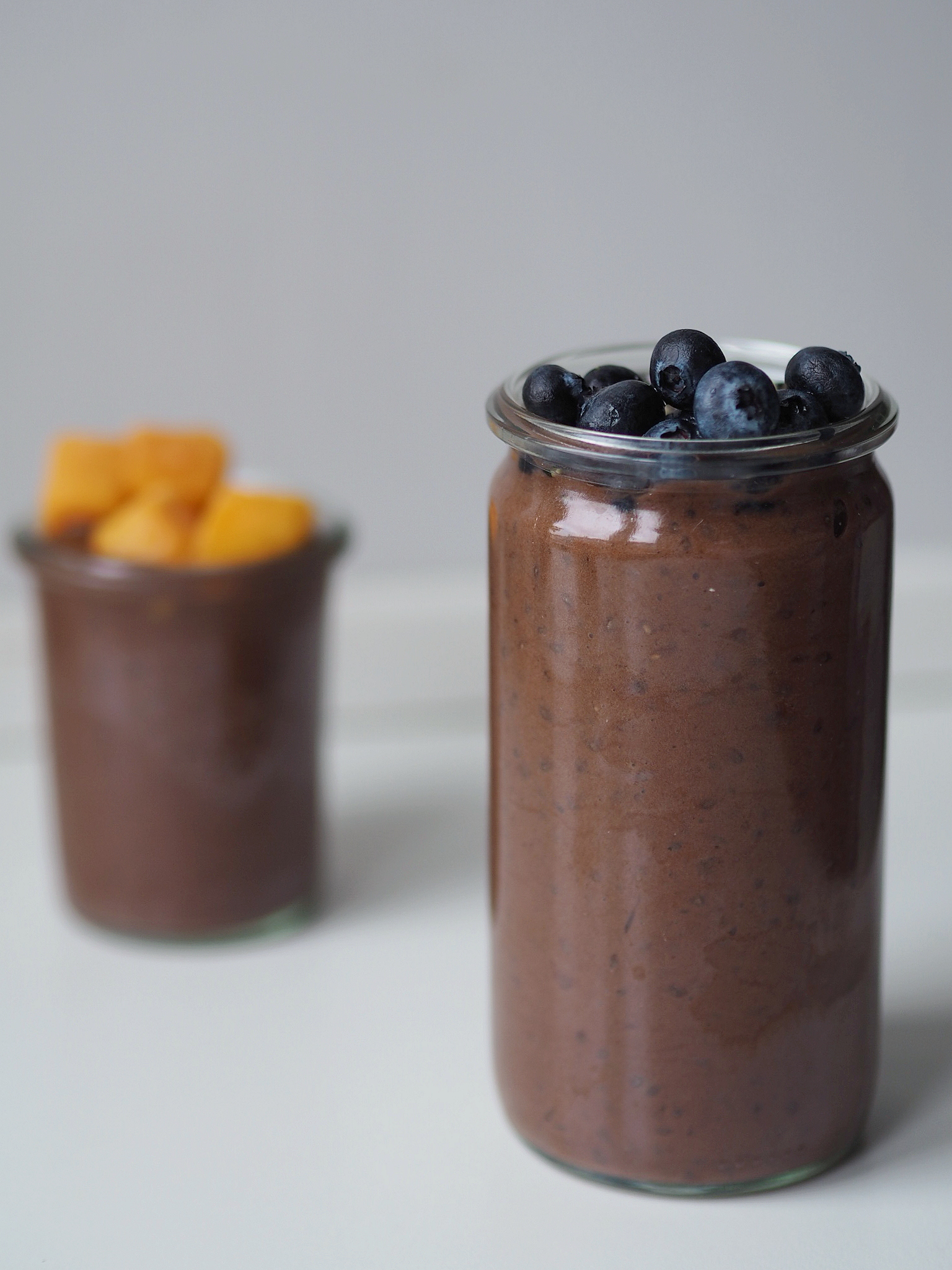 Chiagrød med kakao og avokado