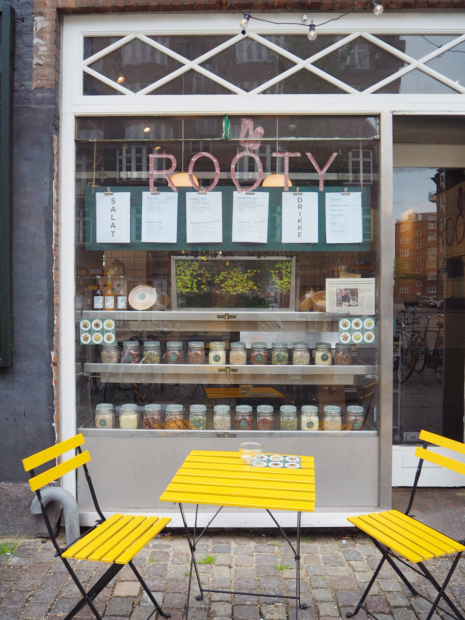 Rooty - lækkert salatsted
