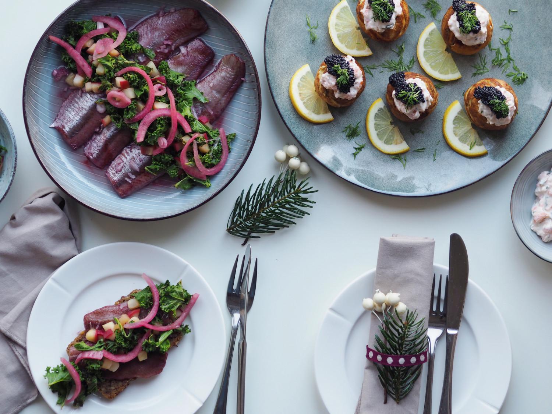 Deluxe julehygge med fiske frokostretter