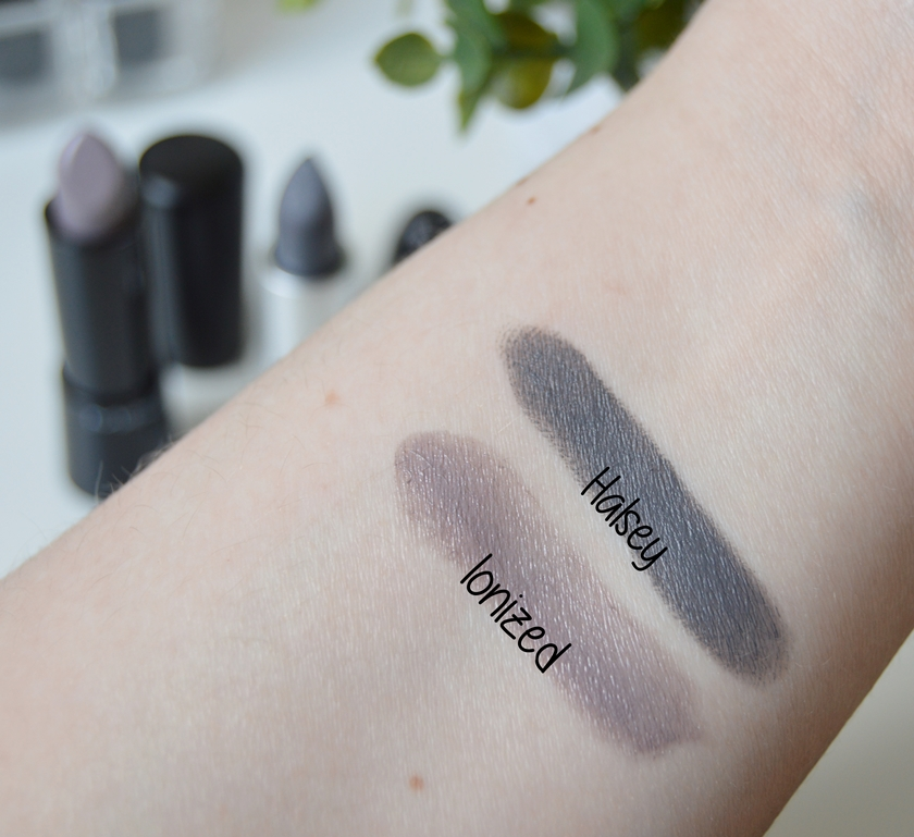MAC Lipstick Ionized Halsey swatch