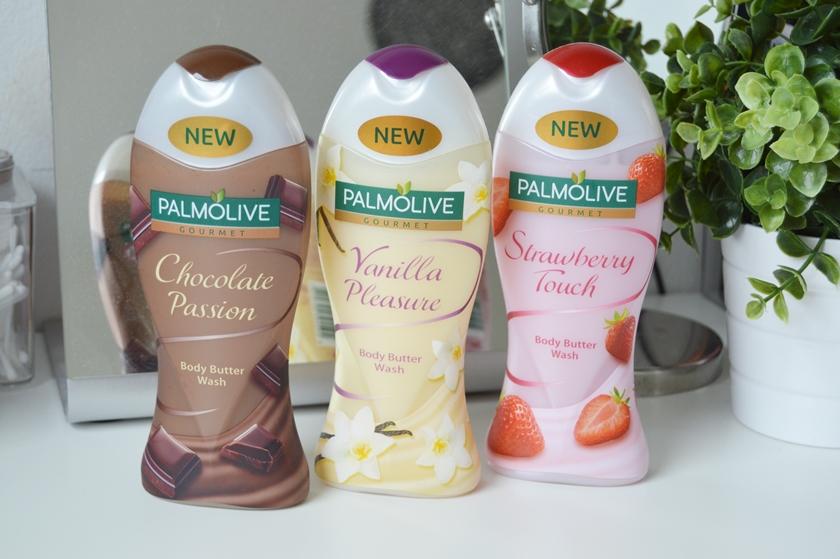 Palmolive body butter wash choco strawberry vanilla