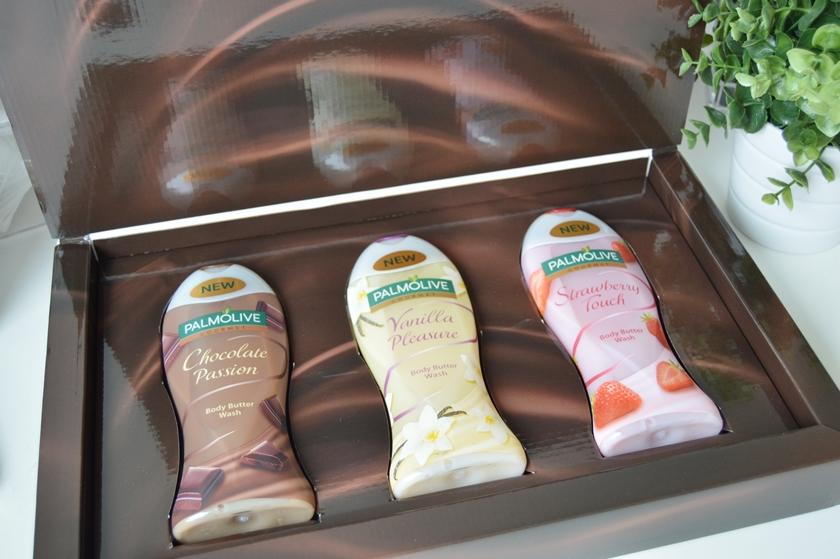 Palmolive body butter wash choco strawberry vanilla 1