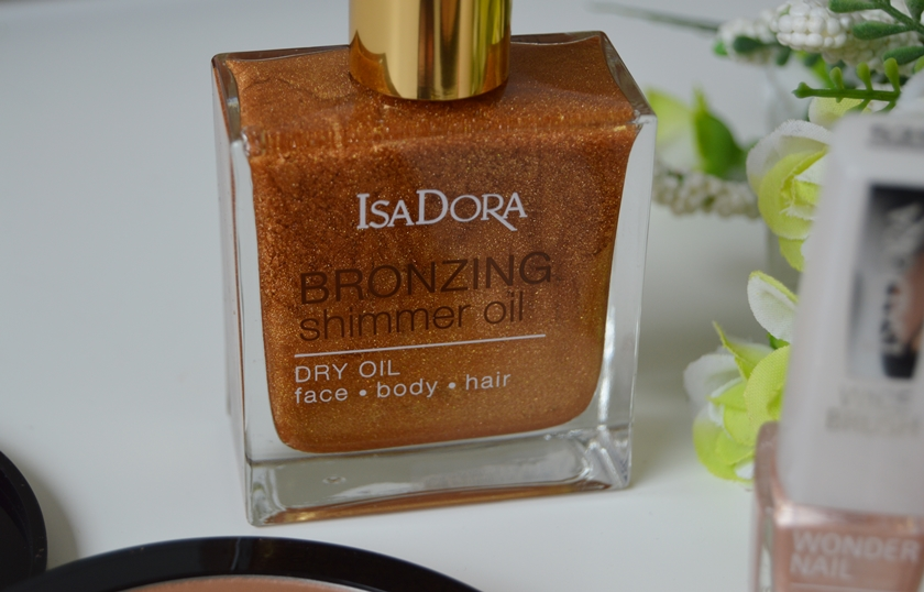 IsaDora Sunkissed Bronzed collection Bronzing shimmer oil