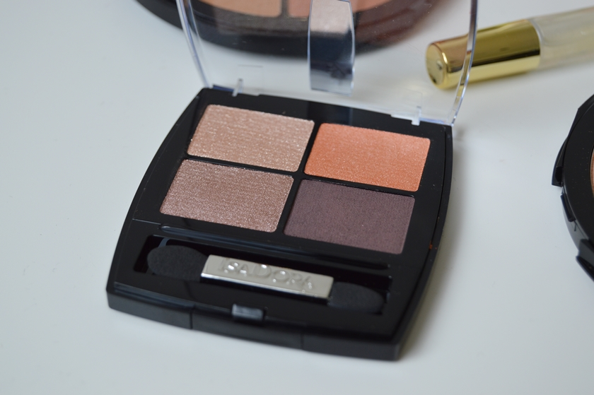 IsaDora Sunkissed Bronzed collection eye shadow quartz