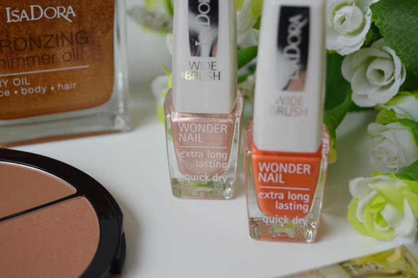 IsaDora Sunkissed Bronzed collection wonder nail