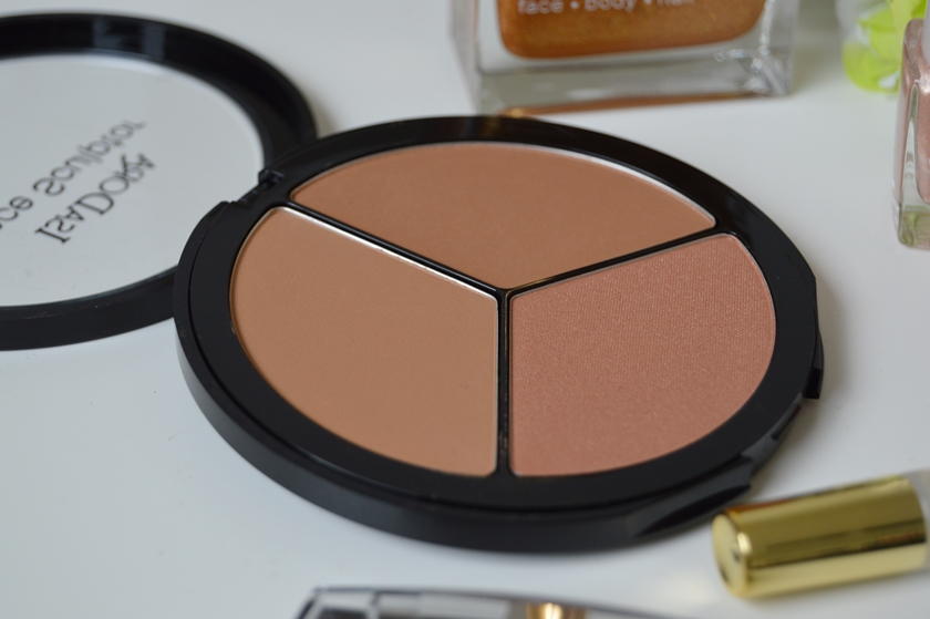IsaDora Sunkissed Bronzed collection face sculptor palette