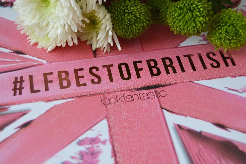 Lookfantastic Beauty Box #LFBestofbritish