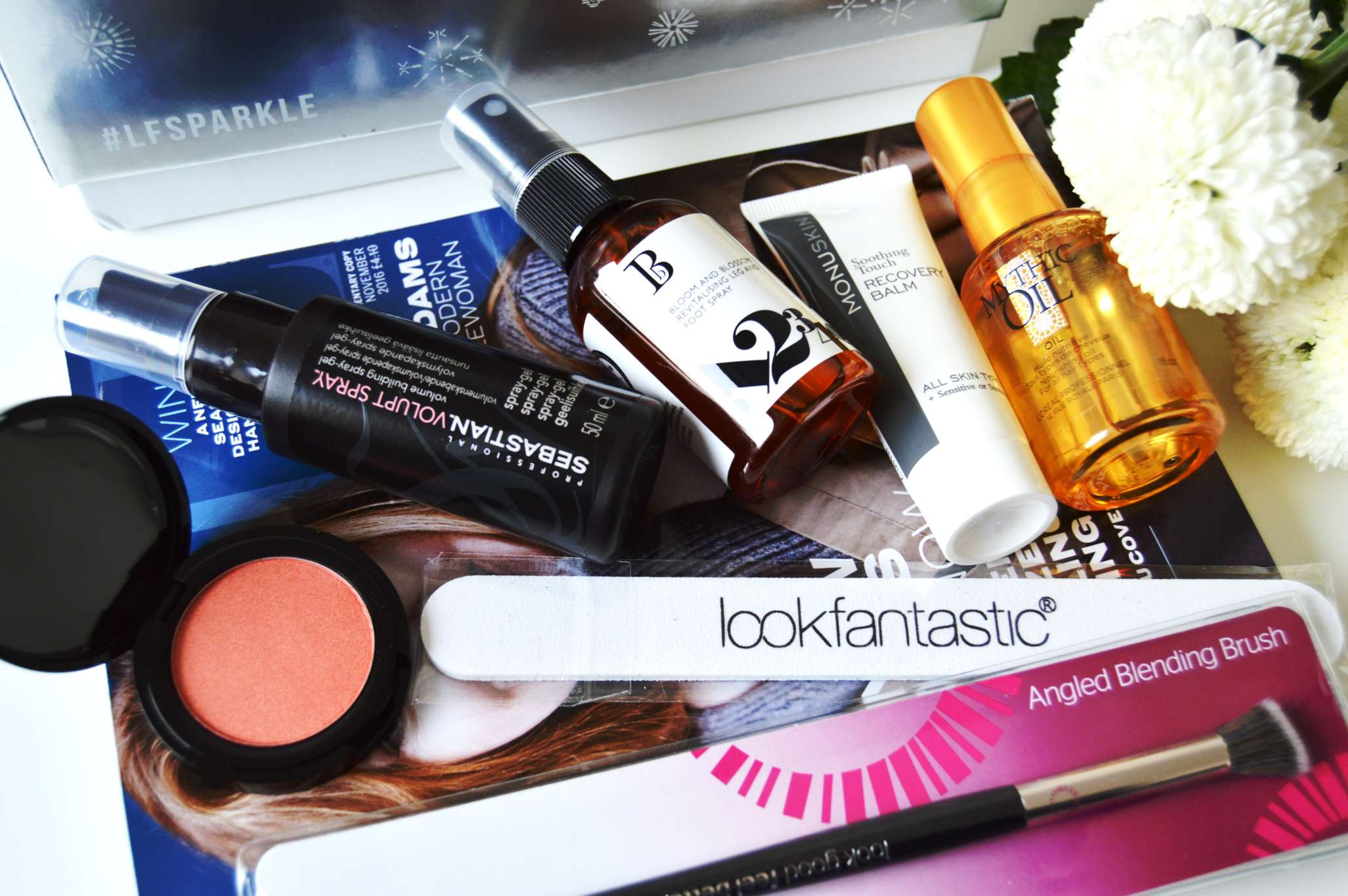 LookFantastic Beauty Box November #LFSparkle
