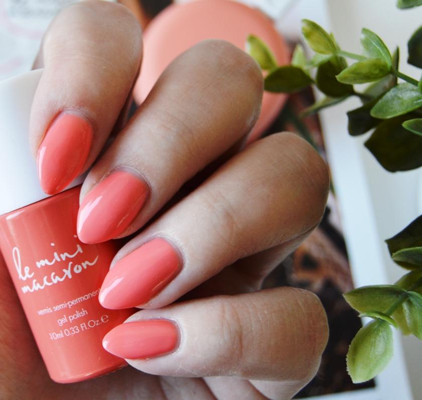 Le Mini Macaron Manicure Kit Peach Swatch