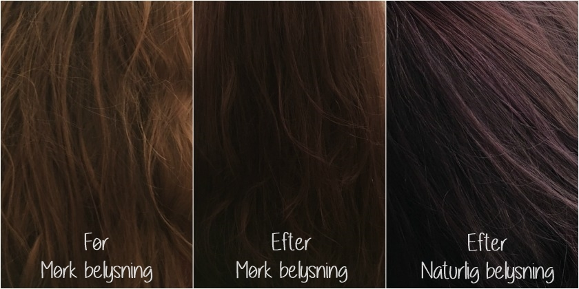 Maria Nila Colour Refresh hårkur resultat