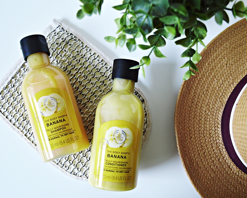 The Body Shop Banana Shampoo and Conditioner