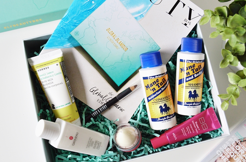 Lookfantastic beauty box Global Glamour