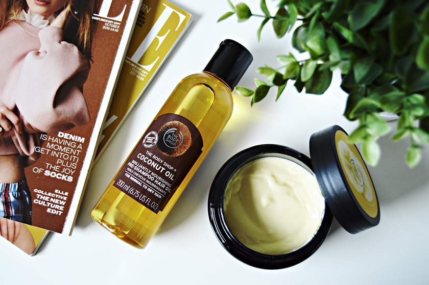 The Body Shop Nyheder Coconut oil Banana hair mask
