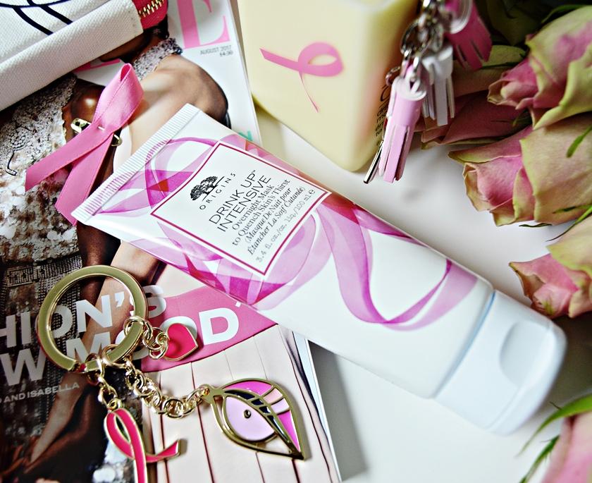 Estée Lauder Breast Cancer Awareness Origins Drink Up