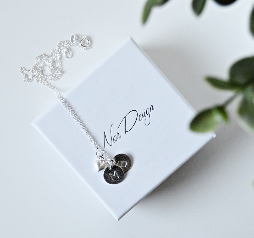 NorDesign Love Tag halskæde