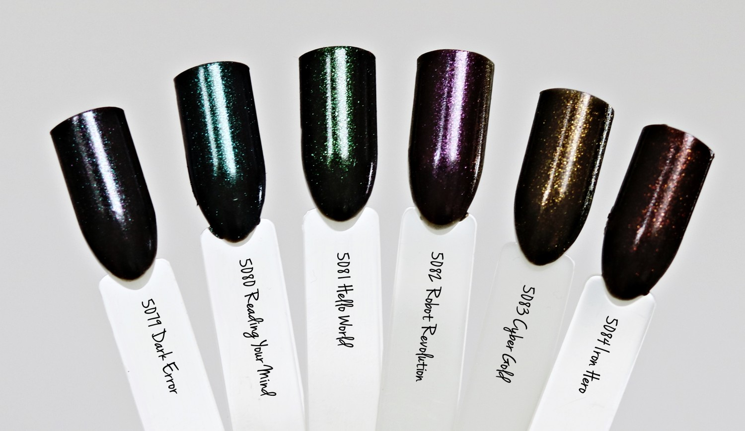 Depend Cosmetic Miss Robot Collection Swatches