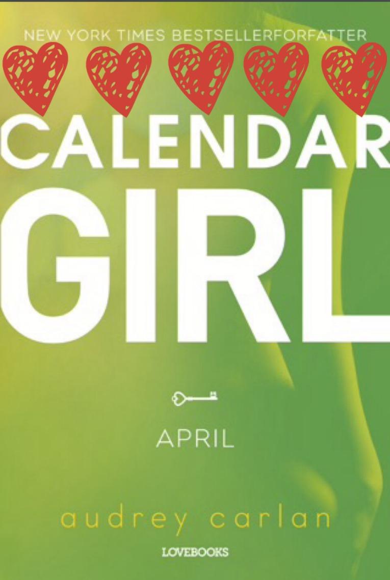 calender girl april med hjerter 765