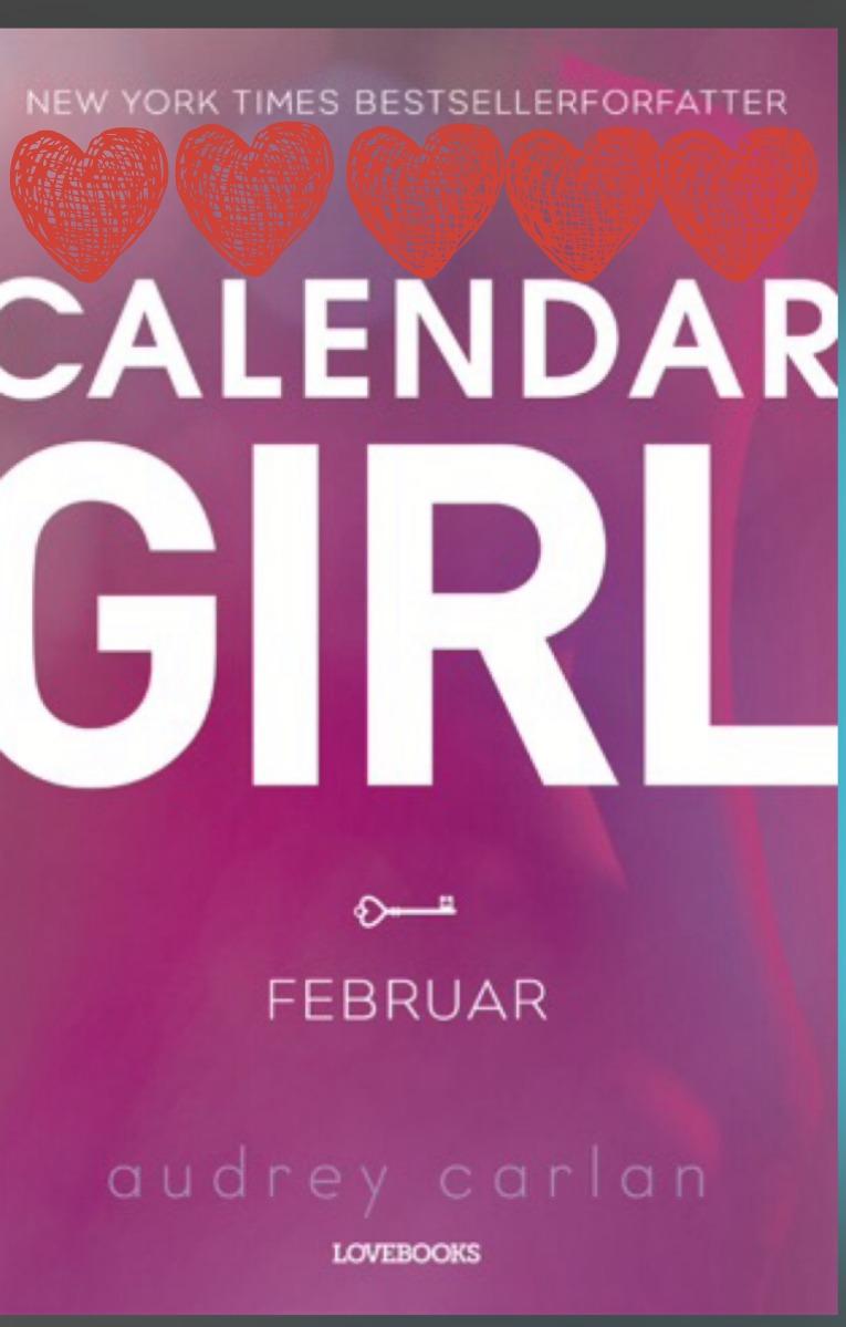 Calendar Girl med hjerter