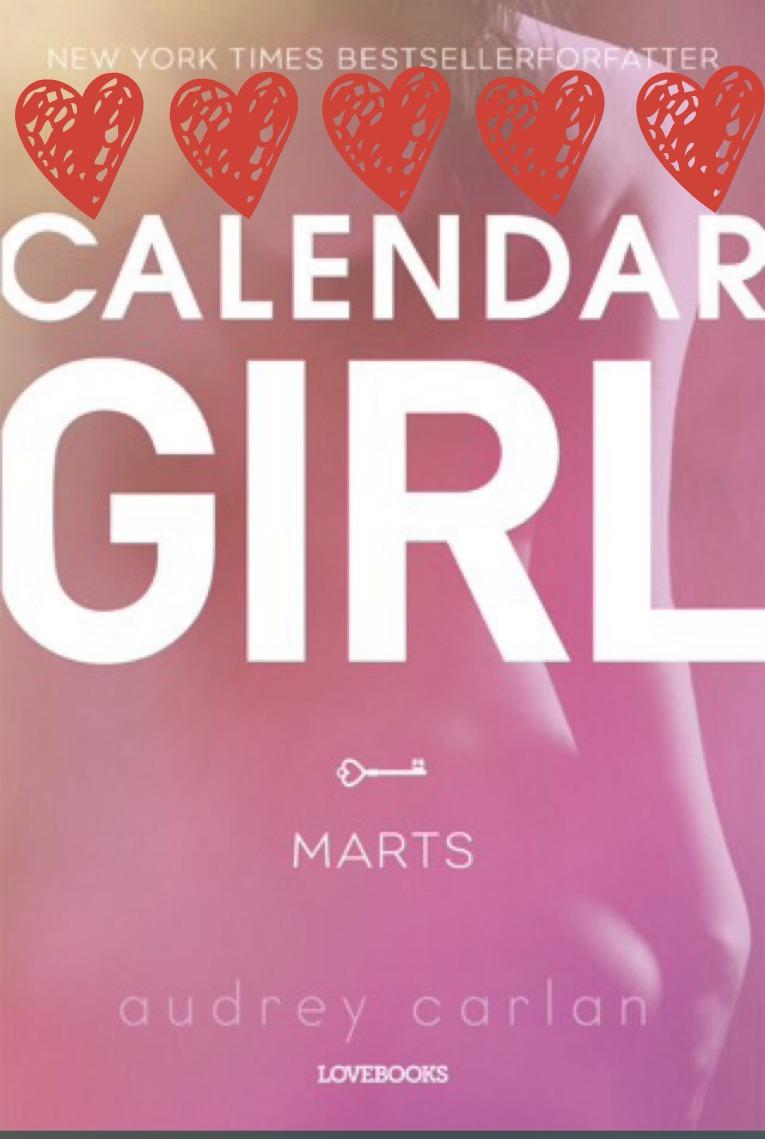 calendargirl marts med hjerter