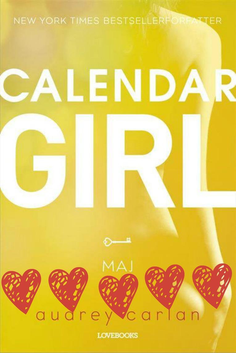 Calendar girl maj med hjerter
