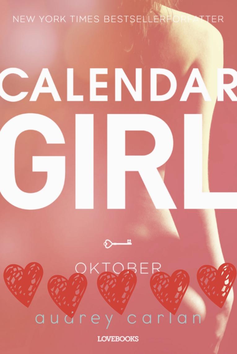Calendar girl oktober med hjerter