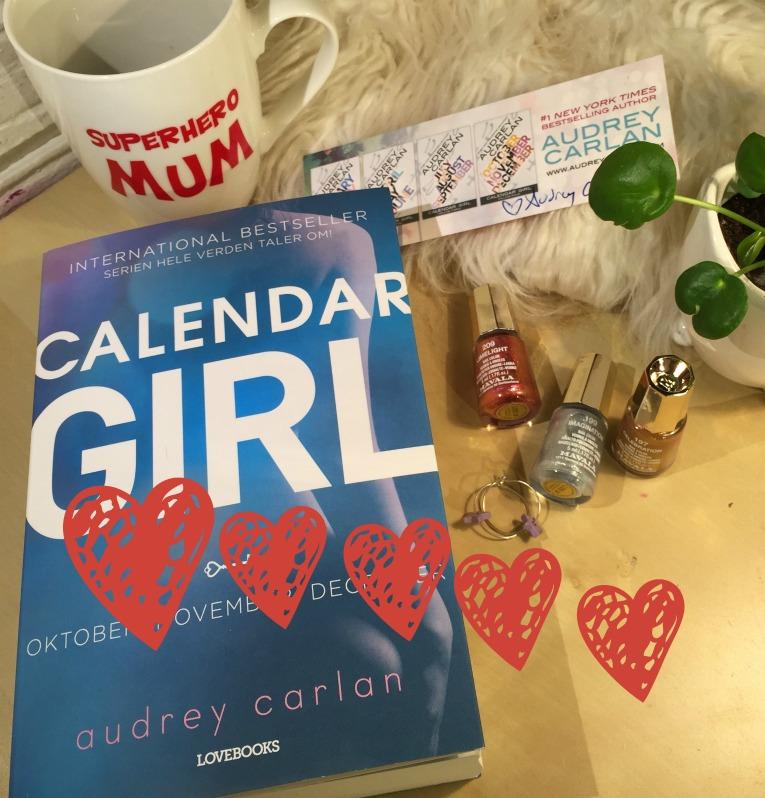 Calendar girl 5 - bog med hjerter)