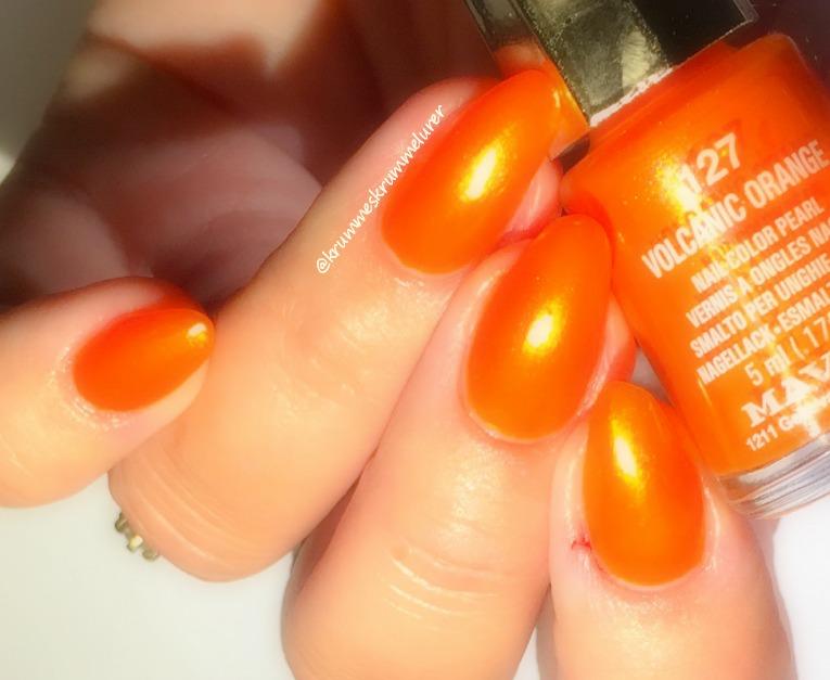 Mavala, Volcanic Orange,