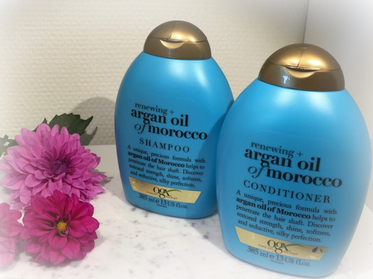 OGX Argan oil of morocco, Shampoo og conditioner, Give Away, Amaze Press, OGX Danmark,