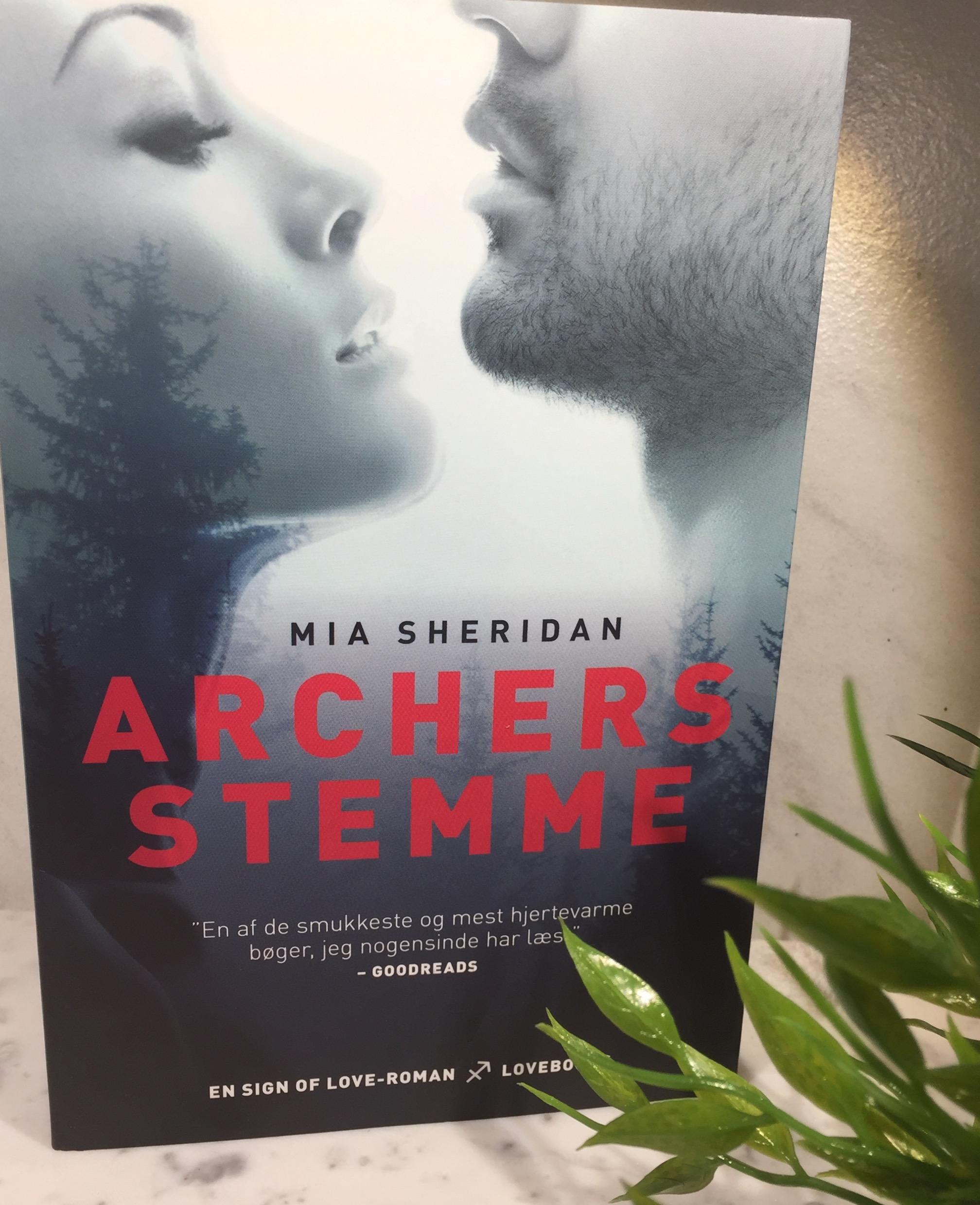 Archers Stemme, Boganmeldelse, Bøger, Boganmeldelse Archers Stemme, Love Books, Lindhardt og Ringhof, Mia Sheridan,