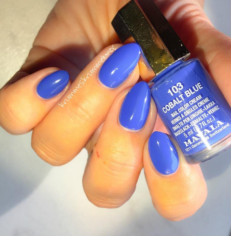 Mavala Cobalt Blue, Mavala neglelak, Cobalt Blue, Mavala 2017