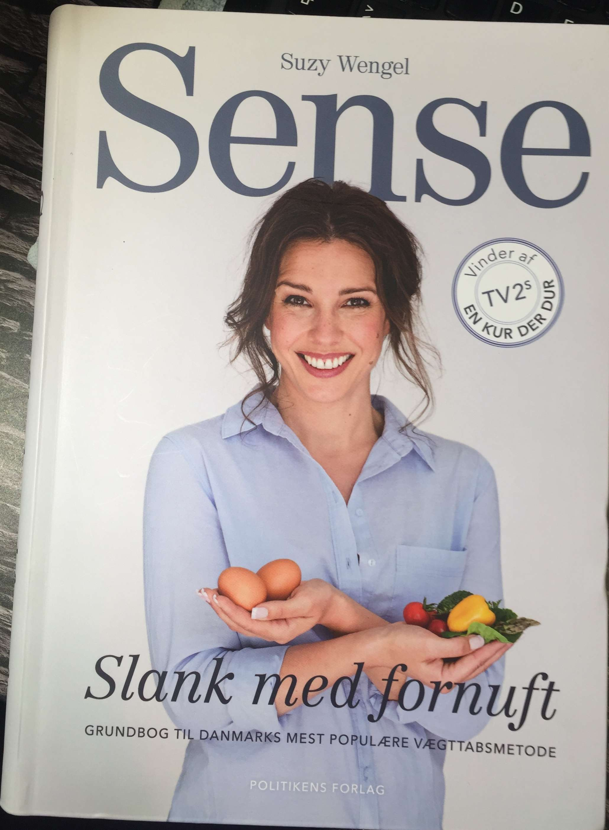 Suzy Wengel, Sense, Slank med fornuft, Grundbog, Politikens Forlag, Sense med Suzy Wengel, Bogforum, Bogforum 2017