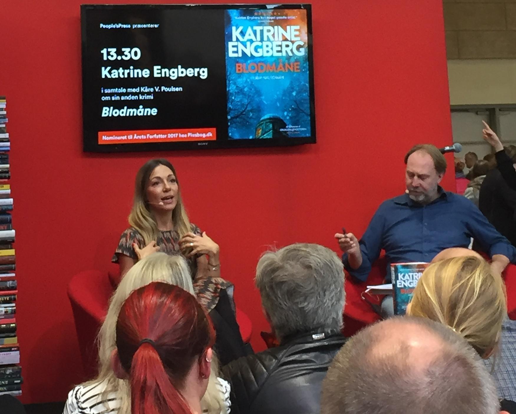 Katrine Engberg, Krokodillevogteren, Katrine Engberg, Lindhardt & Ringhof, Peoples Press, Signering, Foredrag, Bogforum, Bogforum 2017, Krummeskrummelurer