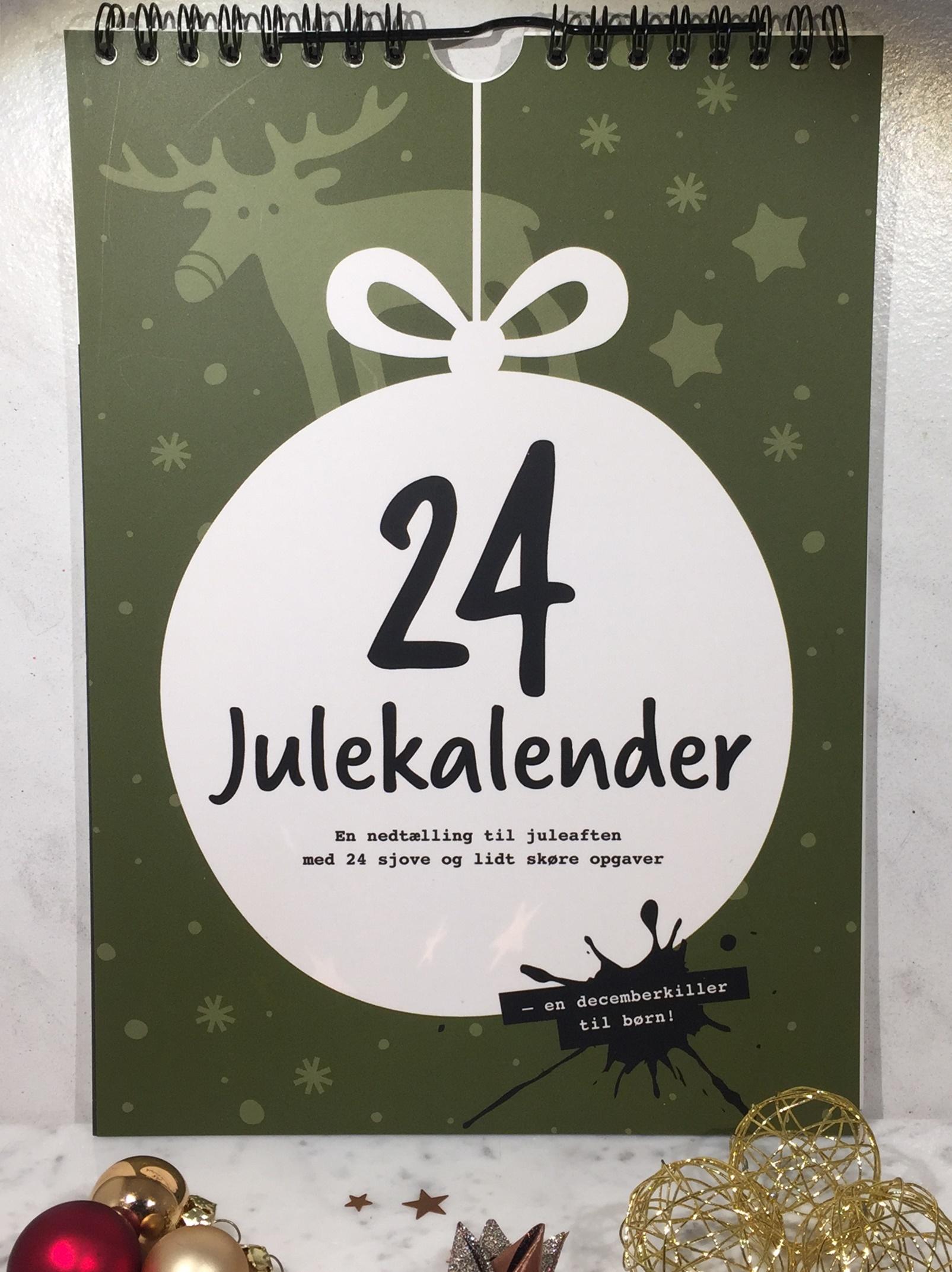 Julekalender, Julekalender 2017, 24Julekalender, 24 Julekalender, Julekalender Grøn, Julekalender Børn