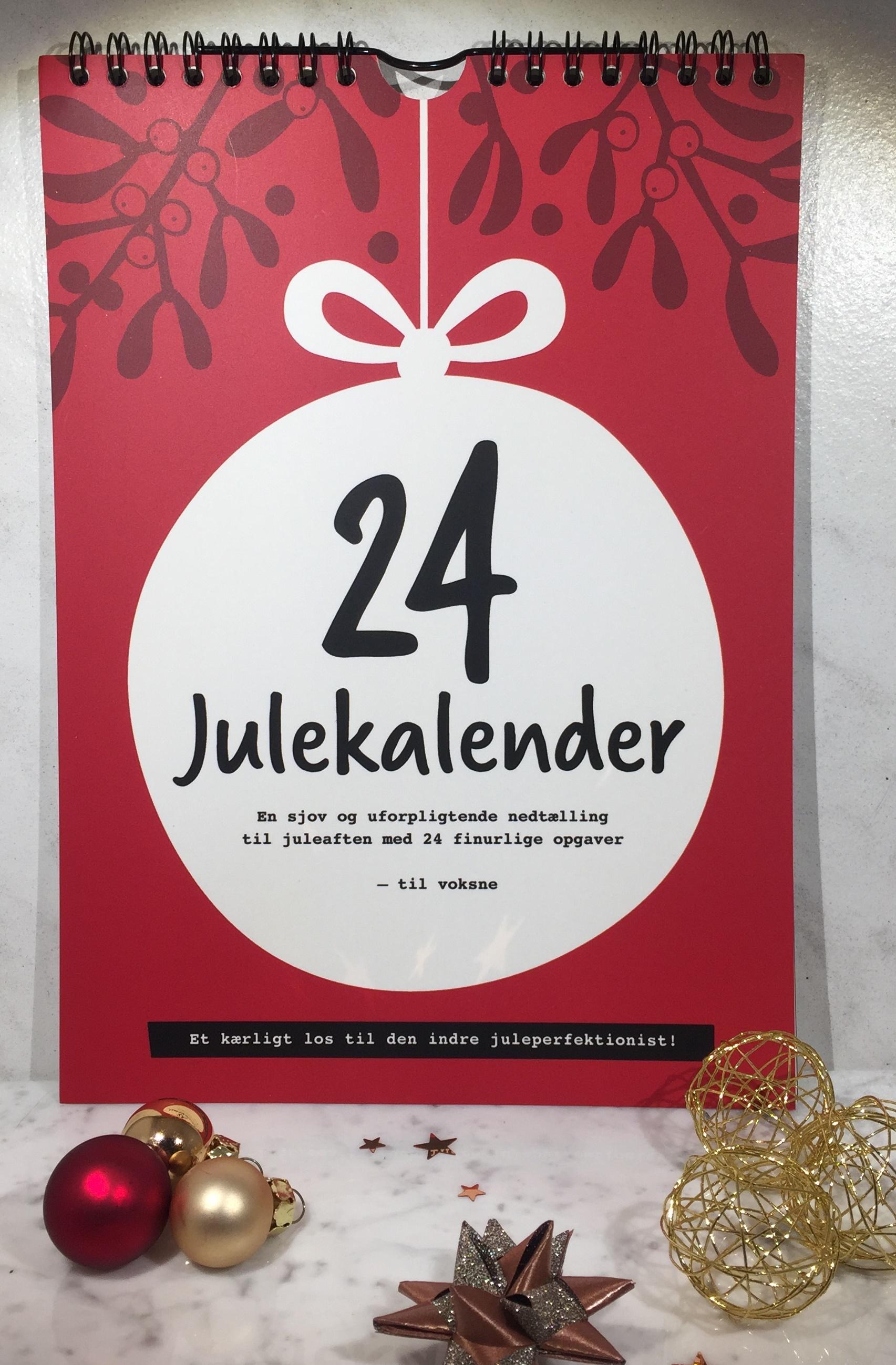 Julekalender, Julekalender 2017, 24Julekalender, 24 Julekalender, Julekalender Rød, Julekalender til juleelskere,