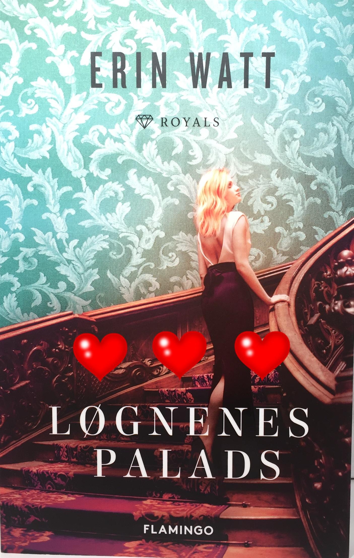 Løgnenes Palads, Flamingo, Flamingo books, Krummeskrummelurer, Anmeldelse, Boganmeldelse, Erin Watt, Papirprinsessen, Askeprinsen, The Royals